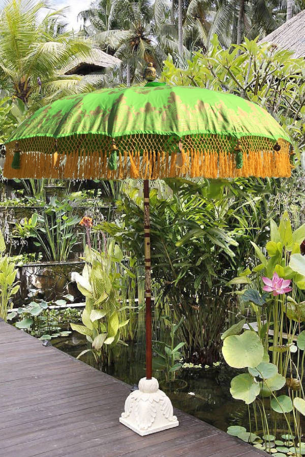Paradise Island Collection Emerald Jewel Exotic Bali Umbrella