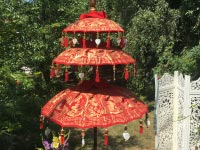 Temple Oriental Umbrella, Monk Umbrella